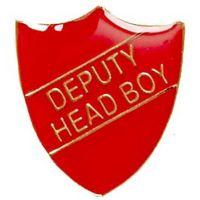 ShieldBadge Deputy Head Boy Red</br>SB020R